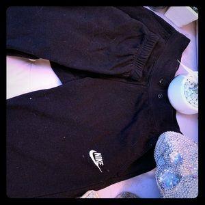 Nike junior sweatpants - skinny cuffed bottoms